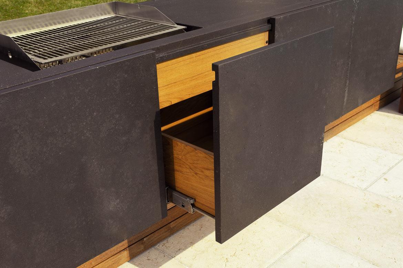 outdoor k chen bentleycucine die k che aus stein. Black Bedroom Furniture Sets. Home Design Ideas